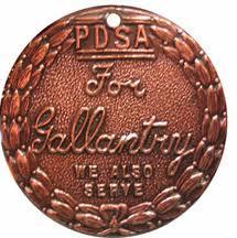 Medal Dickina odznaczenie dla zwierzat które wykazały się bohaterstwem na polu bitwy