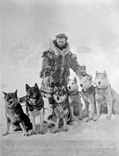 Maszer Leonhard Seppala i jego psy