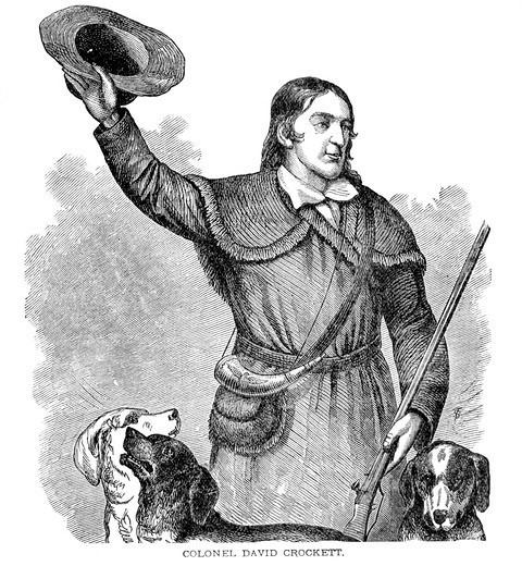 D.D.Crockett i jego psy myśliwskie