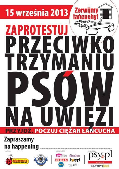 Akcja która odbedzie się w całej Polsce w dniu 15 września pod nazwą Zerwijmy łańcuchy