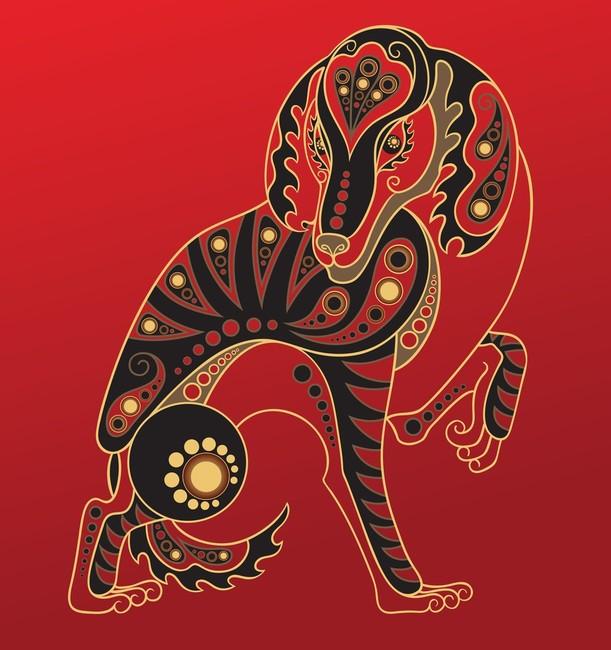 Horoskop chiński znak zodiaku PIES