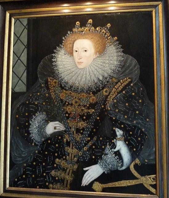 Królowa Elżbieta I Tudor
