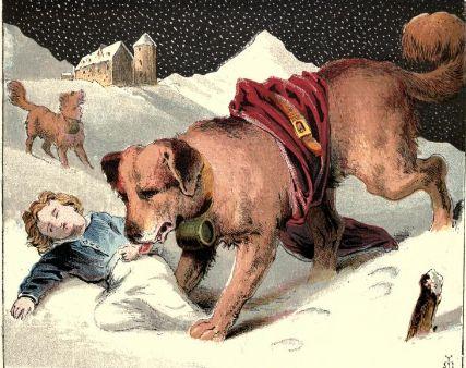 Barry słynny pies ratowniczy