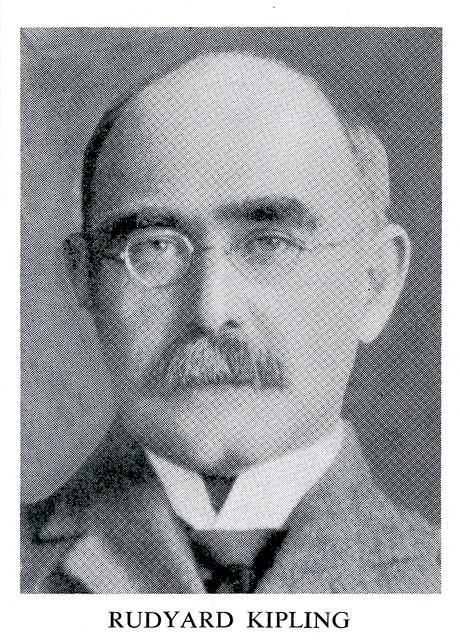 Pisarz i poeta Rudyard Kipling