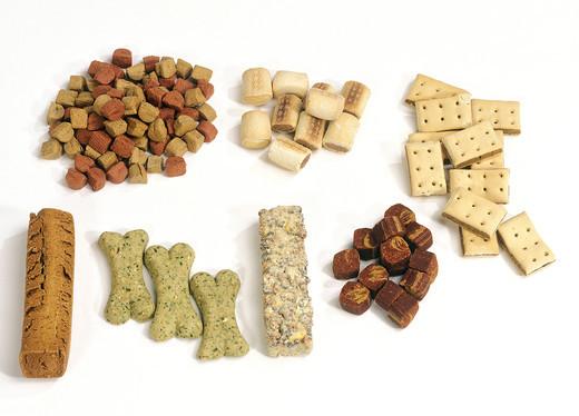 Przerozne smakolyki dla psa