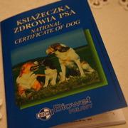 Książeczka zdrowia psa