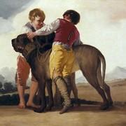 Mastiff i chłopcy