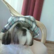 Axel w czapce